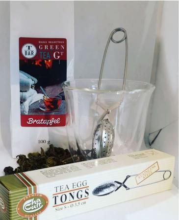 Green Christmas Tea set