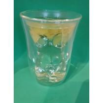 Double wall Beautea Glass  for Tea lovers, Chrysanthemum Tea, Tea caddy