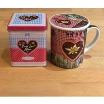 Love Tea Set  plus Tea sample