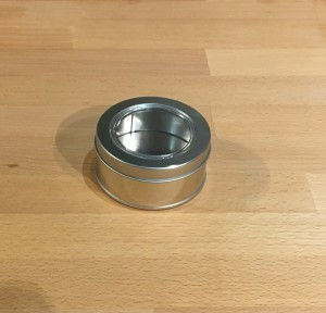 Tin , Tea Container
