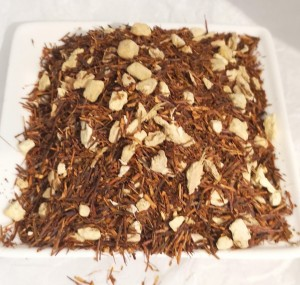 Rooibos Ginger Tea cleansing infusion